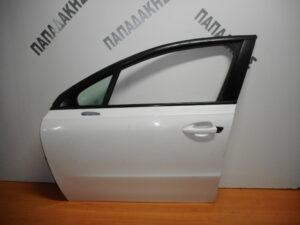 Peugeot 508 2011-2018 εμπρός αριστερή πόρτα άσπρη