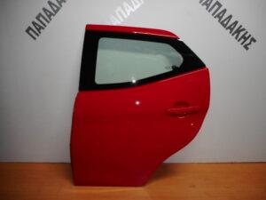 toyota aygo 2014 2020 piso aristeri porta kokkini 300x225 Toyota Aygo 2014 2020 πίσω αριστερή πόρτα κόκκινη