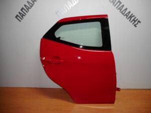 toyota aygo 2014 2020 piso dexia porta kokkini 300x225 Toyota Aygo 2014 2020 πίσω δεξιά πόρτα κόκκινη