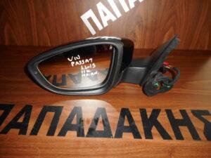 vw passat 2011 2015 ilektrikos anaklinomenos kathreptis aristeros mayros 11 kalodia 300x225 VW Passat 2011 2015 ηλεκτρικός ανακλινόμενος καθρέπτης αριστερός μαύρος 11 καλώδια
