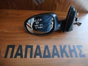 Lancia Delta 2008-2017 ηλεκτρικός καθρέπτης αριστερός μαύρος 5 καλώδια