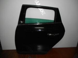 Lancia Delta 2008-2017 πόρτα πίσω αριστερή μαύρη