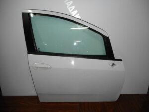 Fiat Grande Punto Evo 2009-2015 εμπρός δεξιά πόρτα άσπρη