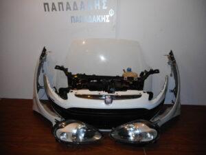 Fiat Grande Punto Evo 2009-2015 μετώπη μούρη εμπρός κομπλέ άσπρη
