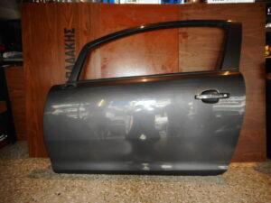 Opel Corsa D 2006-2014 αριστερή πόρτα δύθηρη γκρι σκούρο