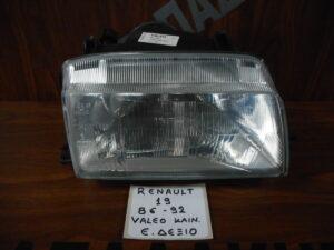 Renault 19 1986-1992 εμπρός δεξιό φανάρι Valeo (Καινούργιο Γνήσιο)
