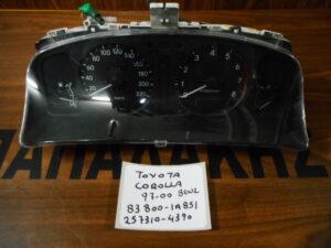 Toyota Corolla 1997-2000 Βενζίνα καντράν κωδικός: 83800-1A851 257310-4390