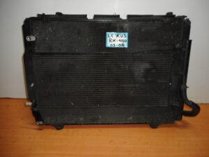Lexus RX 400 2003-2008 σετ ψυγείων και βεντιλατέρ υβριδικό