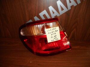 Nissan Almera N16 SDN 2000-2006 φανάρι πίσω αριστερό