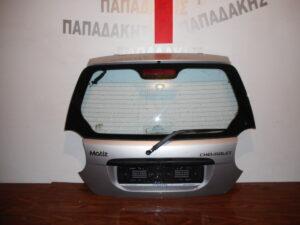 Chevrolet Matiz 2005-2009 οπίσθια πόρτα (3η/5η) ασημί