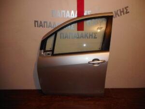 Chevrolet Spark 2010-2015 εμπρός αριστερή πόρτα ασημί