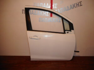 Chevrolet Spark 2010-2015 πόρτα εμπρός δεξιά άσπρη