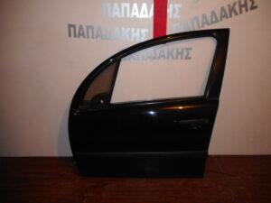 Citroen C3 2002-2009 εμπρός αριστερή πόρτα μαύρη
