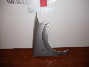 Citroen C3 2002-2009 εμπρός δεξιό φτερό ασημί