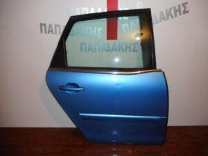 Citroen C4 Picasso 2007-2013 πίσω δεξιά πόρτα μπλε