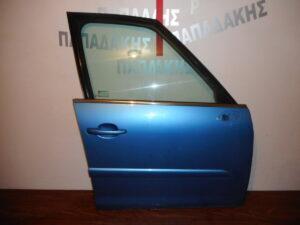 Citroen C4 Picasso 2007-2013 πόρτα εμπρός δεξιά μπλε ανοιχτό