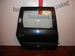 Dacia Logan 2004-2012 πίσω δεξιά πόρτα ανθρακί