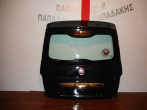 Fiat 500 2007-2016 οπίσθια πόρτα (3η/5η) μαύρη