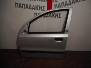 Fiat Panda 2003-2012 εμπρός αριστερή πόρτα ασημί