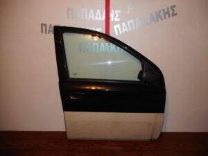 Fiat Panda Cross 2003-2012 πόρτα εμπρός δεξιά μαύρη