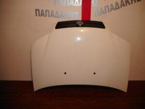 Fiat Punto 2004-2010 εμπρός καπό άσπρο