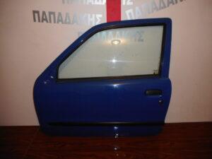 Fiat Seicento 1998-2007 πόρτα δύπορτη αριστερή μπλε ηλεκτρική