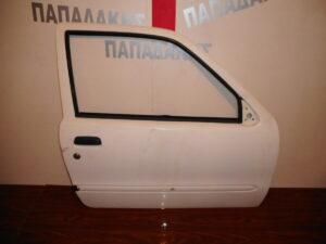Fiat Seicento 1998-2007 πόρτα δύπορτη δεξιά άσπρη ηλεκτρική