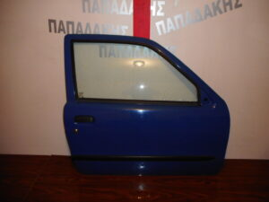 Fiat Seicento 1998-2007 πόρτα δύπορτη δεξιά μπλε ηλεκτρική