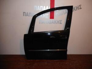 Lancia Musa 2008-2012 εμπρός αριστερή πόρτα μαύρη