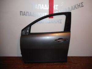 Lancia Ypsilon 2011-2020 εμπρός αριστερή πόρτα ανθρακί