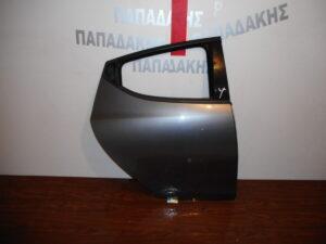 Lancia Ypsilon 2011-2020 πίσω δεξιά πόρτα μολυβί