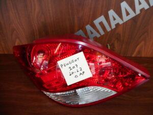 Peugeot 207 2010-2012 πίσω αριστερό φανάρι LED