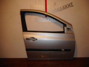 Renault Clio 2006-2013 πόρτα εμπρός δεξιά ασημί