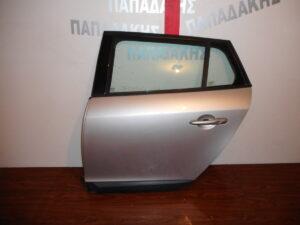 Renault Megane Estate 2008-2016 πίσω αριστερή πόρτα ασημί