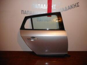 Renault Megane Estate 2008-2016 πίσω δεξιά πόρτα ασημί