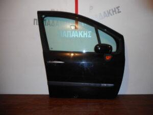 Renault Modus 2005-2013 πόρτα εμπρός δεξιά μαύρη