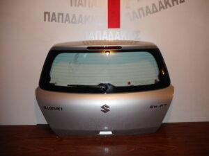 Suzuki Swift 2006-2011 οπίσθια πόρτα (3η/5η) ασημί