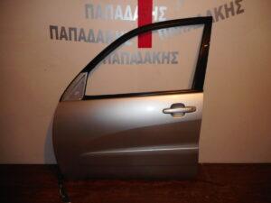 Toyota Rav 4 2001-2006 εμπρός αριστερή πόρτα ασημί