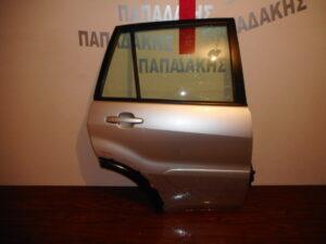 Toyota Rav 4 2001-2006 πίσω δεξιά πόρτα ασημί