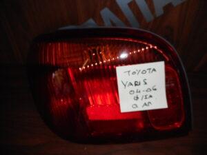 Toyota Yaris 2004-2006 πίσω αριστερό φανάρι με φίσα
