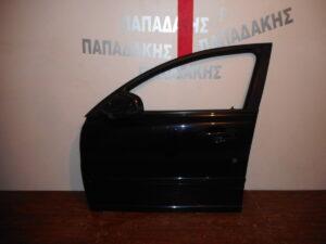 Volvo S40/V50 2004-2012 εμπρός αριστερή πόρτα μαύρη