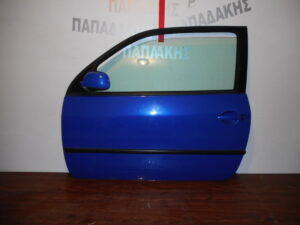 VW Lupo 1998-2005 πόρτα αριστερή δύθυρη μπλε